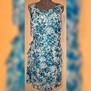 NWT DRESS BARN tiered dress, size 14W